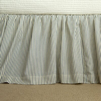 Camden Stripe Bed Skirt Size: California  King