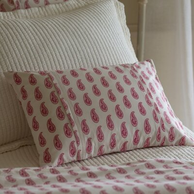 Paisley Boudoir Pillow Color: Red