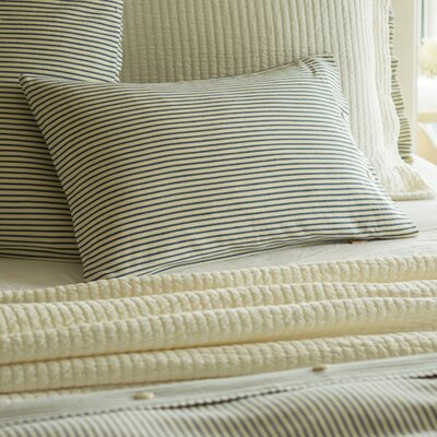 Camden Stripe Cotton Boudoir Pillow