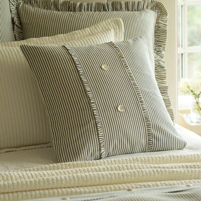 Camden Stripe Porch Cotton Throw Pillow