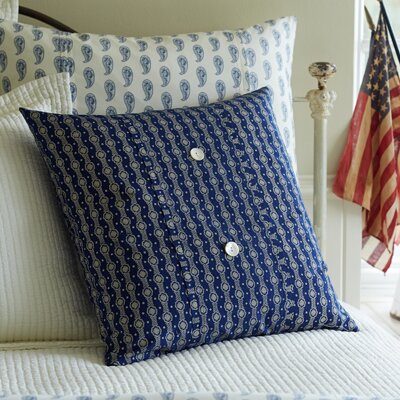 Beckham Porch Cotton Throw Pillow