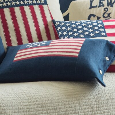 Flag Linen Boudoir Pillow