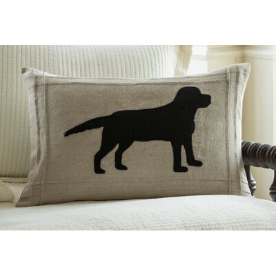 Lab on Linen Lumbar Pillow