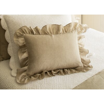 Verandah Linen Boudoir/Breakfast Pillow