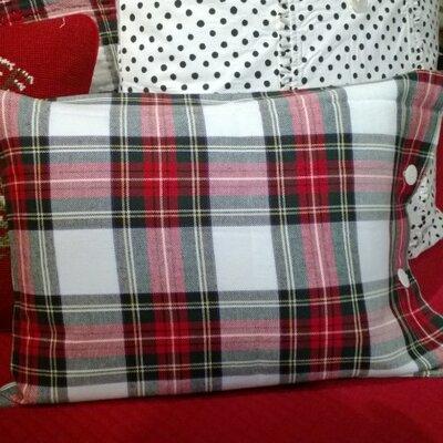 Aberdeen Unquilted Cotton Boudoir/Breakfast Pillow