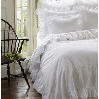 Prairie Cotton Duvet Cover Size: King