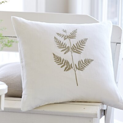 Bracken Fern Porch Throw Pillow