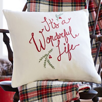 Its A Wonderful Life Throw Pillow