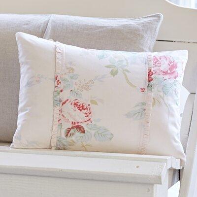 Shore Rose Petal Cotton Lumbar Pillow