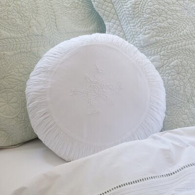 Posie Cotton Throw Pillow