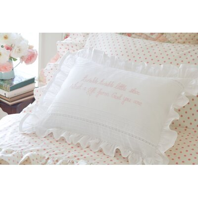 Twinkle Twinkle Linen Boudoir/Breakfast Pillow Color: Blue