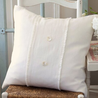 Hampton Porch 100% Linen Voile Throw Pillow