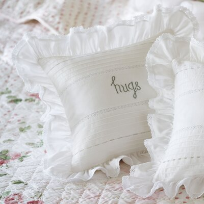 Hugs Toss Linen Throw Pillow