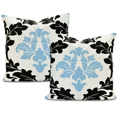 Deauville Printed Cotton Cushion Cover