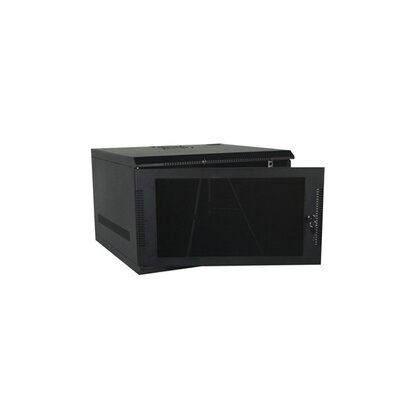 100 Series Compact Wall Mount Enclosure Color: Black, Rack Spaces: 5RU