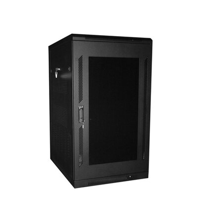410 Series Server Rack Color: Black, Rack Spaces: 45RU