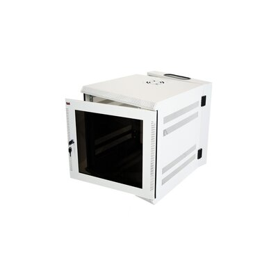 300 Series 19 Wall Mount Enclosure Color: Ivory, Rack Spaces: 7RU