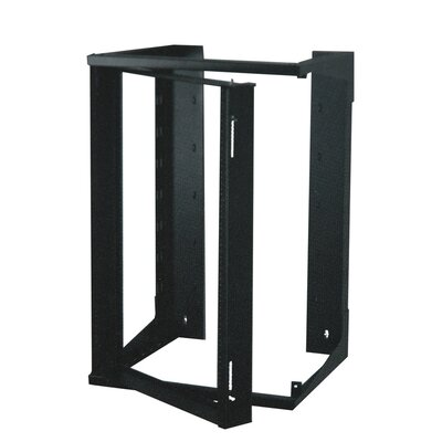 Swing-Out Open Frame Wall Rack Size: 20U