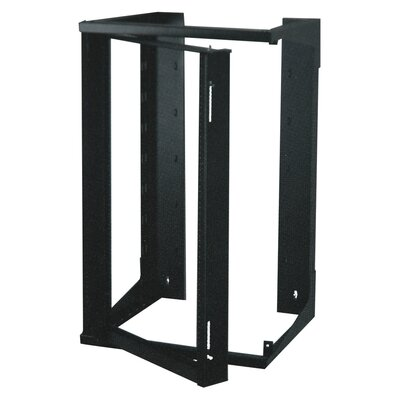 Swing-Out Open Frame Wall Rack Size: 25U