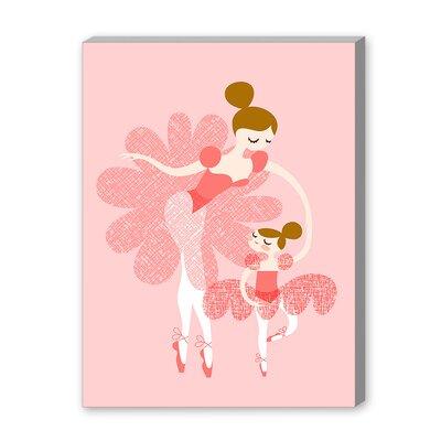 The Paper Nut Ballerina Mother Daughter Graphic Art