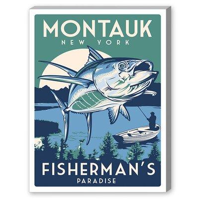 Matthew Schnepf Montauk Fish Vintage Advertisement