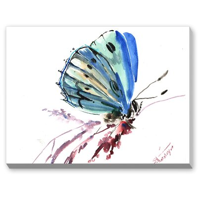Butterfly by Suren Nersisyan Painting Print on Canvas Size: 32