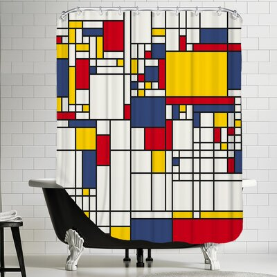 Polyester Square Shower Curtain