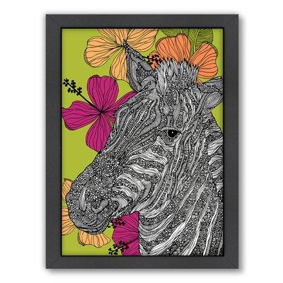 """Zebra by Valentina Ramos Graphic Art Frame Color: No Frame, Size: 24"""" W x 30"""" H x 1.5"""" D A117P070C2430"""