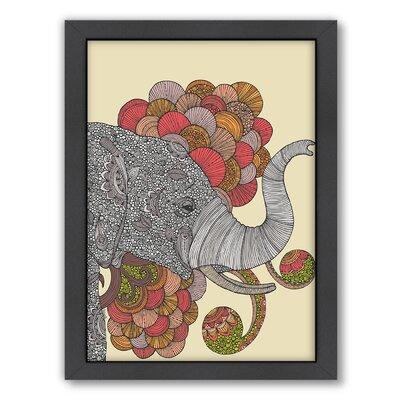 "Dream of India by Valentina Ramos Framed Graphic Art Frame Color: No Frame, Size: 24"" H x 30"" W x 1.5"" D A117P022C2430"