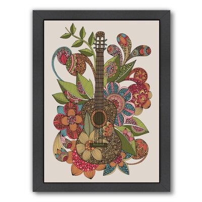 Ever Guitar by Valentina Ramos Graphic Art A117P106F
