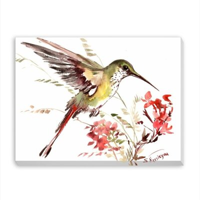 Hummingbird 13 by Suren Nersisyan Painting Print on Gallery Wrapped Canvas Size: 20