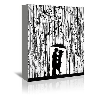 "Film Noir by Marc Allante Graphic Art on Wrapped Canvas Size: 20"" H x 16"" W x 1.75"" D A120P007C1620"