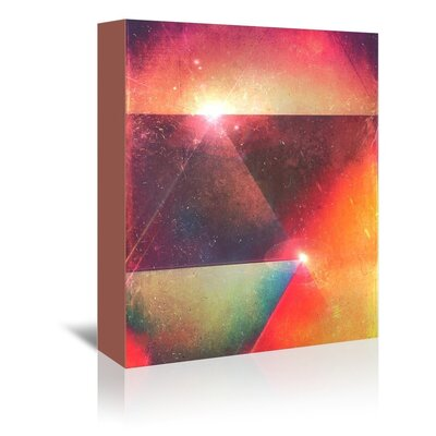 Spires Styryzyns Graphic Art on Gallery Wrapped Canvas Size: 30