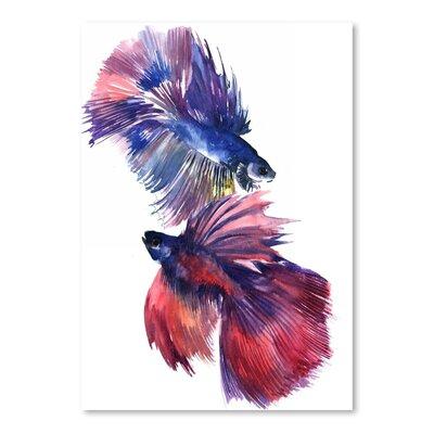 Beta Fish 2 by Suren Nersisyan Painting Print