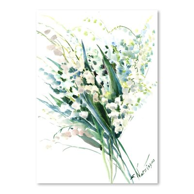 Lilies of The Valley by Suren Nersisyan Painting Print