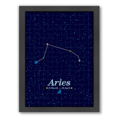 Aries by Patricia Pino Framed Graphic Art