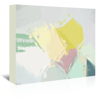 Urban Road Facet 09 Painting Print on Wrapped Canvas Size: 32