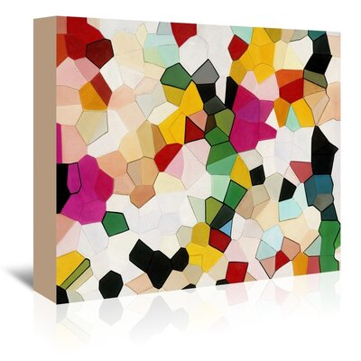 Urban Road Candy Crush Graphic Art on Wrapped Canvas Size: 24