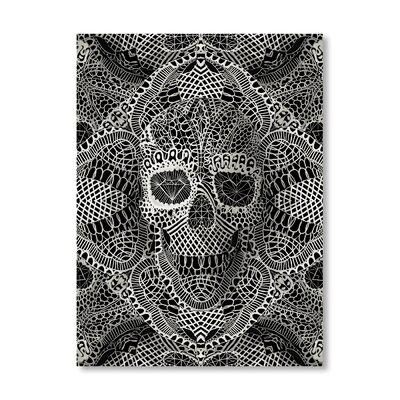 Ali Gulec Skull Laces Graphic Art