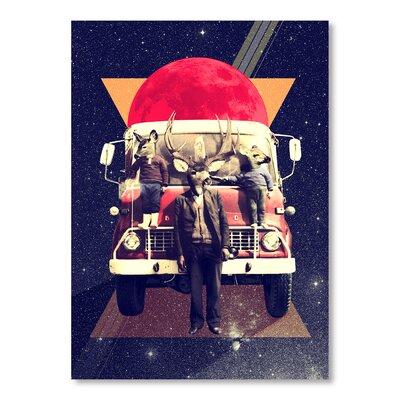 Ali Gulec El Camion Graphic Art