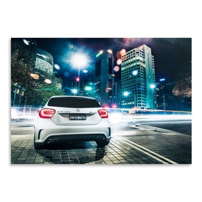 Form & Function White Mercedes 2 Photographic Print