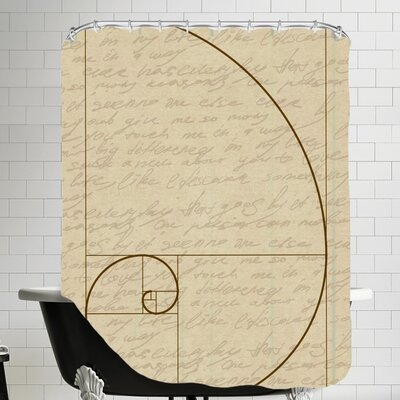 Fibonacci 2 Shower Curtain