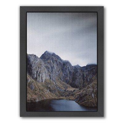 Landscape 2 LILA + LOLA Framed Photographic Print Size: 16.5