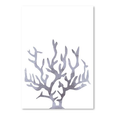 Gray Coral Poster Gallery by Jetty Printables Graphic Art