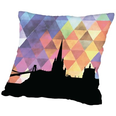 Triangle Paper Finch Bristol Throw Pillow Size: 20