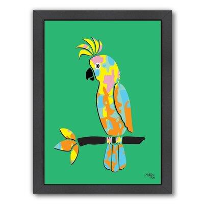 Cabrini Crested Cockatoo Framed Graphic Art