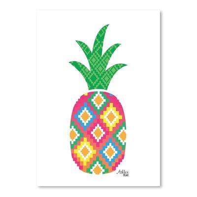 Cabrini Mexicano Pineapple Graphic Art VKGL2853 27121647