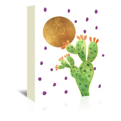 Cactus 3 by Ikonolexi Graphic Art on Wrapped Canvas Size: 30