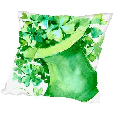 Suren Nersisyan St. Patricks Day Throw Pillow Size: 18 H x 18 W x 2 D