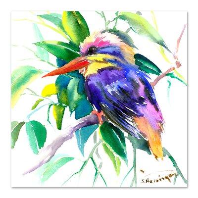 Oriental Kingfisher 2 by Suren Nersisyan Original Painting Size: 10